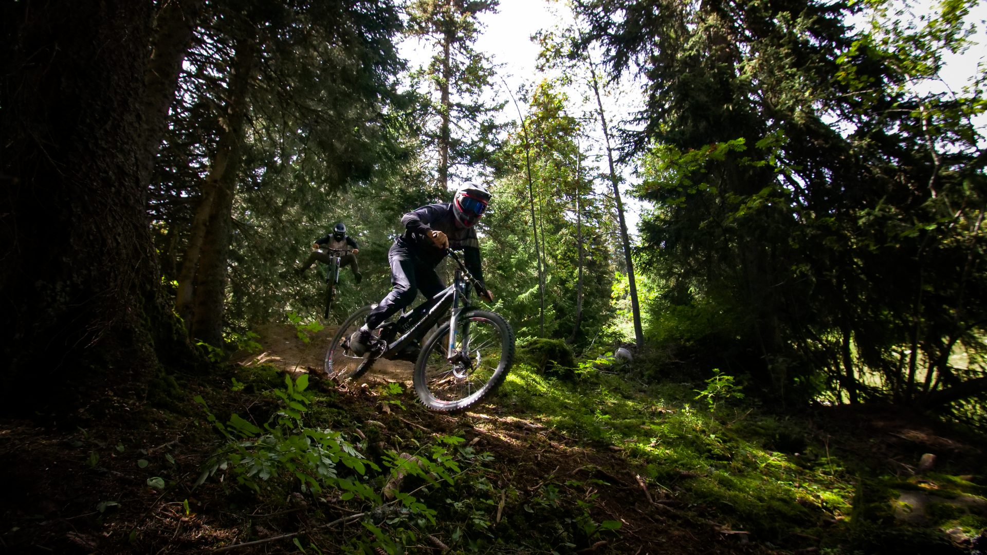 Leysin Bikepark - 3 Tours