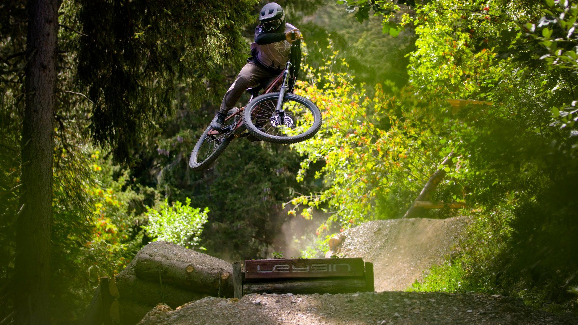Leysin Bikepark - Nérine - Black section